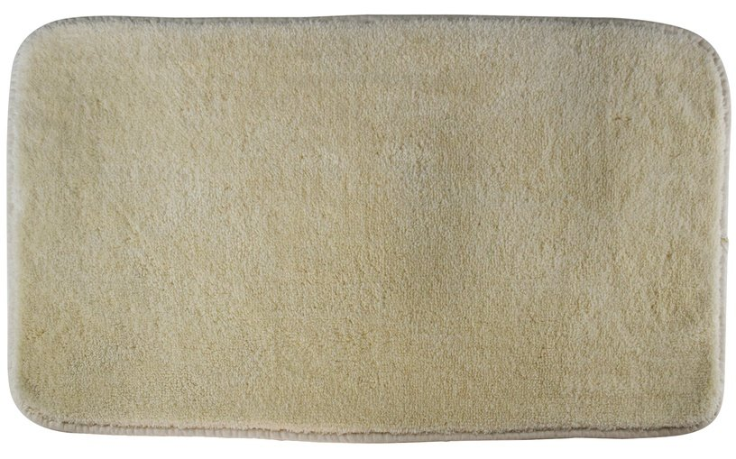 Vannas istabas paklājs Saniplast ECO BAMBOO, bēša/smilškrāsas, 900x550 mm