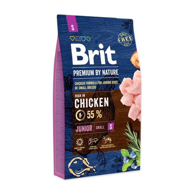 Сухой корм для собак Brit Premium by Nature Junior Small Dog Chicken 1kg
