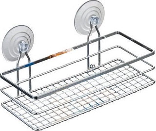 Axentia Cassandra Bathroom Shelf Straight Single-Stage Wide