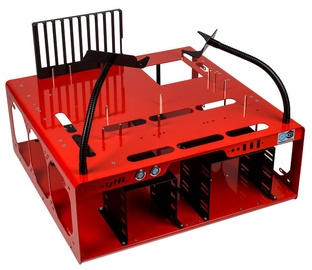 DimasTech Case Benchtable EasyXL Spicy Red