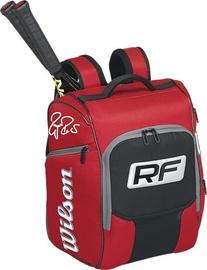 Спортивная сумка Wilson Federer Elite, черный/красный