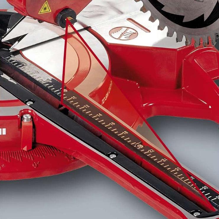 Einhell TC-SM 2131 Dual Sliding Mitre Saw