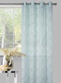 Domoletti Day Curtains Karo Green 140x245cm