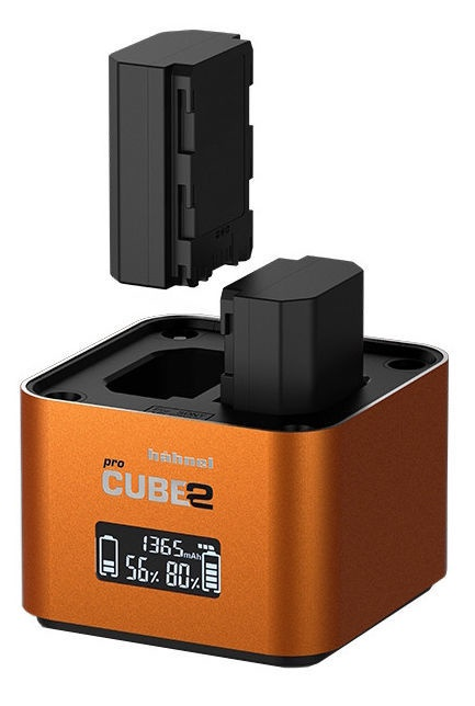 Hähnel ProCube 2 Charger For Sony Orange