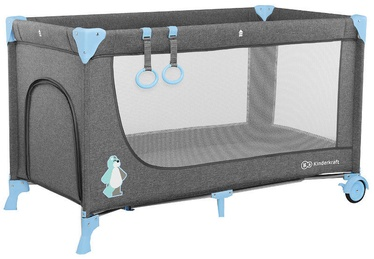Ceļojuma gultiņa KinderKraft Joy Blue
