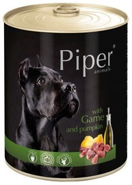 Dolina Noteci Piper Animals Wet Dog Food Vension And Pumpkin 800g