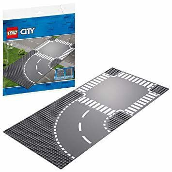 LEGO City Supplementary Curve and Crossroad 60237