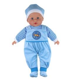 Lėlė su mėlynais drabužiais