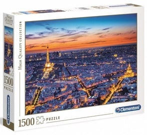 Clementoni Puzzle High Quality Collection Paris View 1500pcs 31815