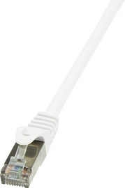 LogiLink Patch Cable Cat.6 F/UTP EconLine 1m White