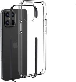 Чехол Devia Skyfall Shockproof for iPhone 12/12 Pro, прозрачный