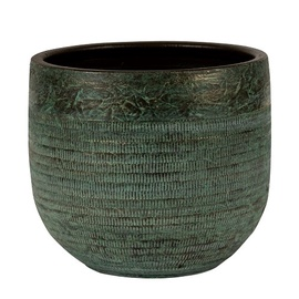 Keraamiline pott NDT Serena 1-01A, roheline, 27 x 25 cm