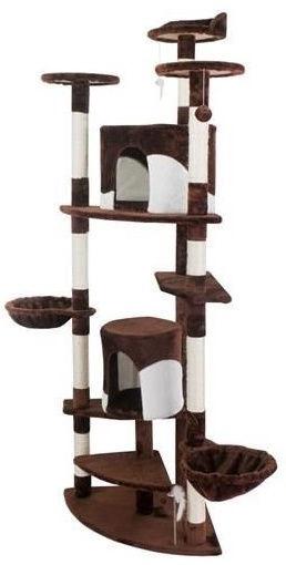 Когтеточка для кошек 200 см, коричневый