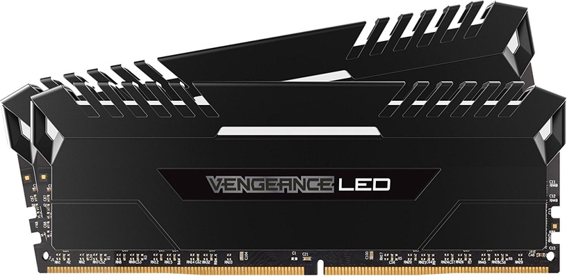 Corsair Vengeance WHITE LED 32GB 2666MHz CL16 DDR4 KIT OF 2 CMU32GX4M2A2666C16