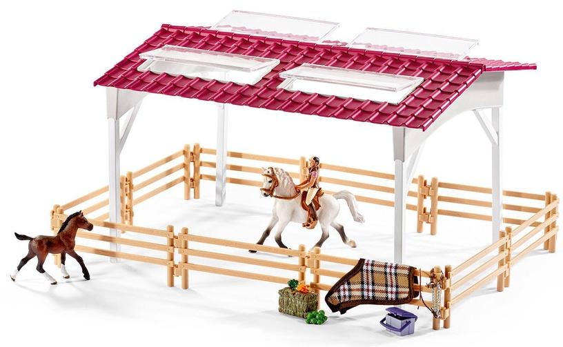 Schleich Riding Centre With Rider And Horses 42344