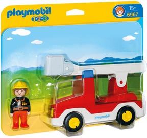 Playmobil 1-2-3 Ladder Unit Fire Truck 6967
