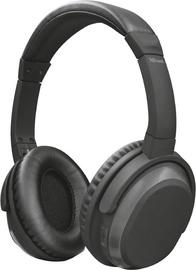 Ausinės Trust Paxo Bluetooth Black, belaidės
