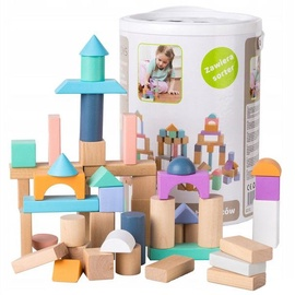 EcoToys Wooden Blocks 100pcs 2505