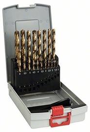 Bosch Professional 2608587015 HSS-TiN Metal Drill Bit Set 19pcs