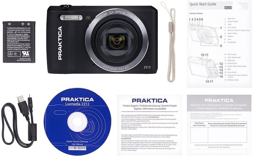 Praktica Luxmedia Z212 Black