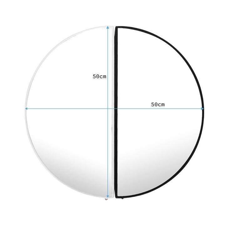 Spogulis Homede Kish, stiprināms, 50x50 cm