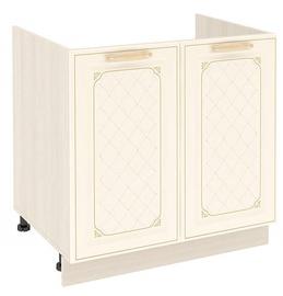 DaVita Milana 23.51 Kitchen Bottom Cabinet Under The Sink Astrid Pine/Vanilla