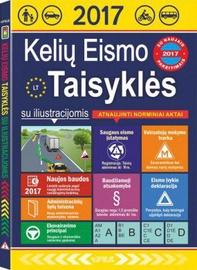 Knyga Kelių eismo taisyklės su iliustracijomis
