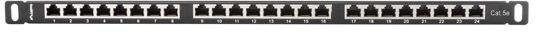 Lanberg PPS5-0024-B 24 Port Panel