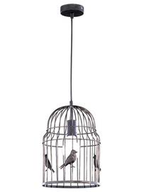 LAMPA GRIESTU TRIO BIRDS 60W E27 BRŪNA