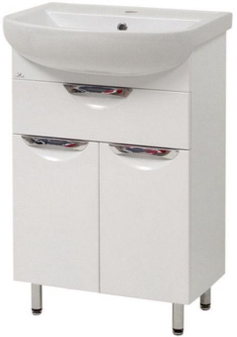 Vannas istabas skapītis Sanservis Laura-55-2 510x845x280mm White