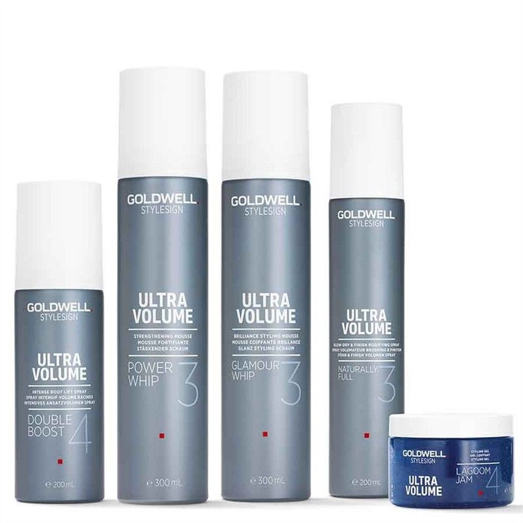 Goldwell Style Sign Ultra Volume Power Whip Strenghtening Mousse 300ml