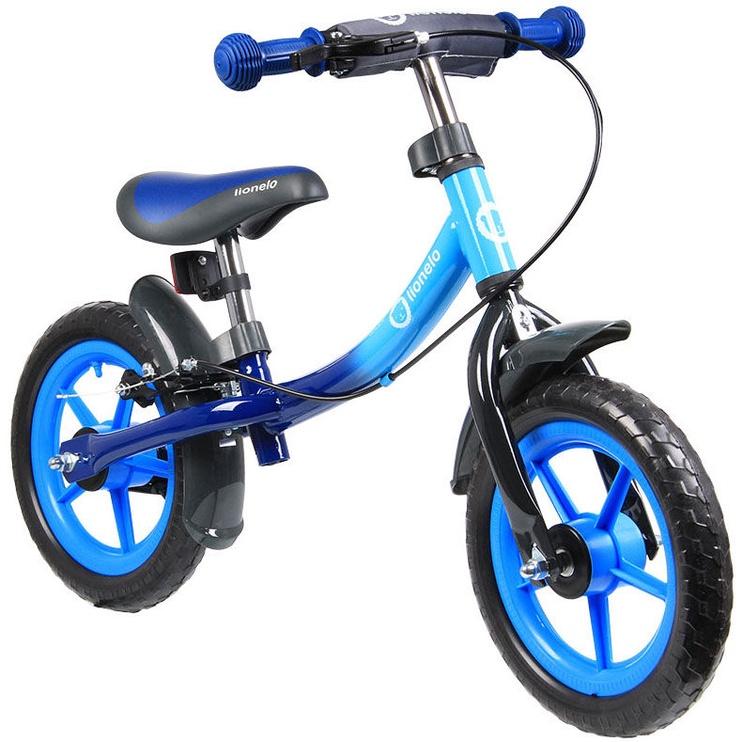 Vaikiškas dviratis Lionelo Balance Bike DAN PLUS Blue