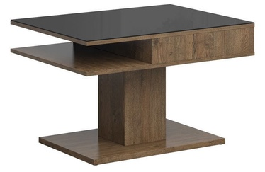 Kohvilaud Black Red White Campo Oak/Black, 800x600x500 mm