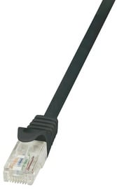 LogiLink CAT 5e U/UTP Cable Black 2m