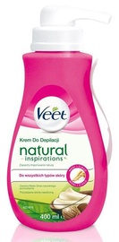 Veet Natural Inspirations Depilatory Cream 400ml