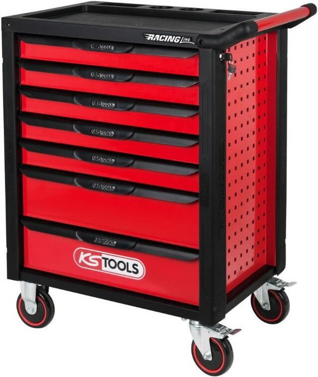 KS Tools 826.0007 RacingLine Toolbox Red