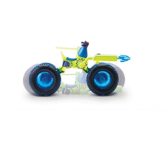 Rotaļlieta trutles motocikls ar leonardo