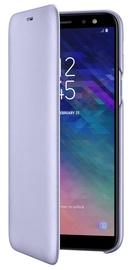 Samsung Galaxy A6 Wallet Case Violet