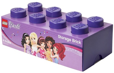 LEGO Storage Brick 8 Large Friends Lilac