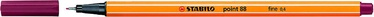 Stabilo Point 88 Fineliner 0.4mm Bordo 88/19