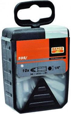 Bahco TORX T25 Bit Set 25mm 30pcs