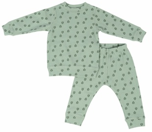 Lodger Baby Pajama Sleeper Rib Silt Green 86