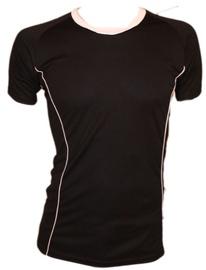 Bars Mens Football Shirt Black/White 185 M