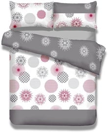 AmeliaHome Snuggy Flakes Bedding Set 155x220 2pcs/80x80 2pcs