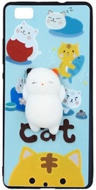 Mocco 4D White Cat Back Case For Samsung Galaxy S6