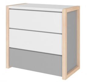 Bellamy Pinette Chest Of Drawers White/Gray