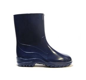 Moteriški guminai batai, su aulu, mėlyni, 41 dydis