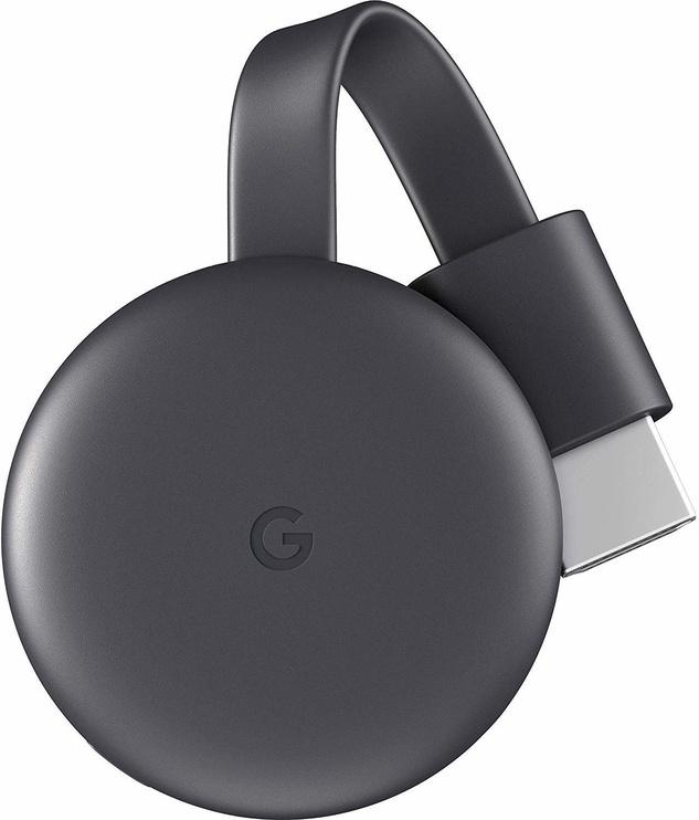 Мультимедийный проигрыватель Google Chromecast 3, Micro USB, хромовый