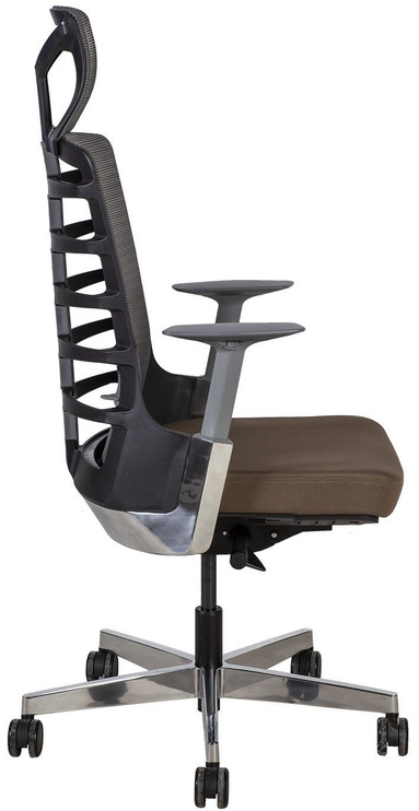 Biroja krēsls Home4you Spinelly Brown/Grey