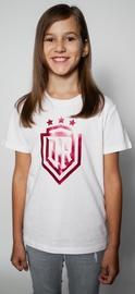 Футболка Dinamo Rīga Children T-Shirt White/Red 116cm
